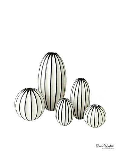 Dwell Studio by Global Views Ribbed Egg Vase