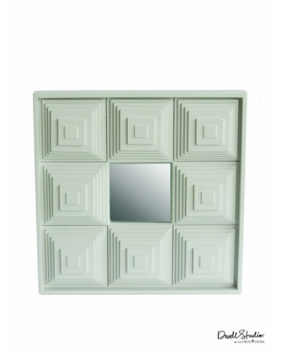 Dwell Studio by Global Views Pyramid Mirror, White