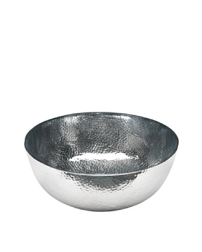 Dynasty Gallery Metal Hammered Round Bowl