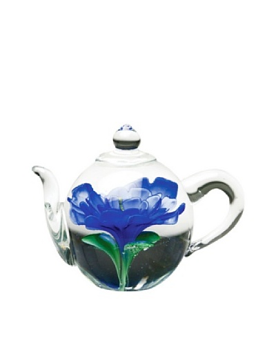 Dynasty Gallery Hand-Made Glass Teapot