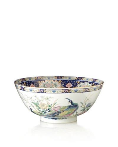 Dynasty Gallery Peacock Bowl