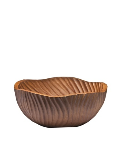 Dynasty Gallery Hand Carved Tulip Bowl