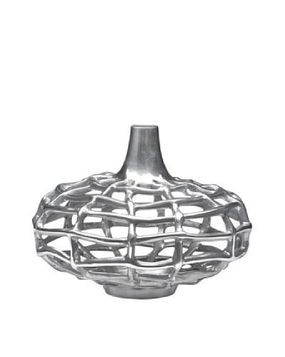 Dynasty Gallery Metal Plasma Vase