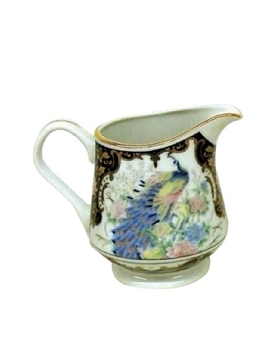 Dynasty Gallery Peacock Creamer