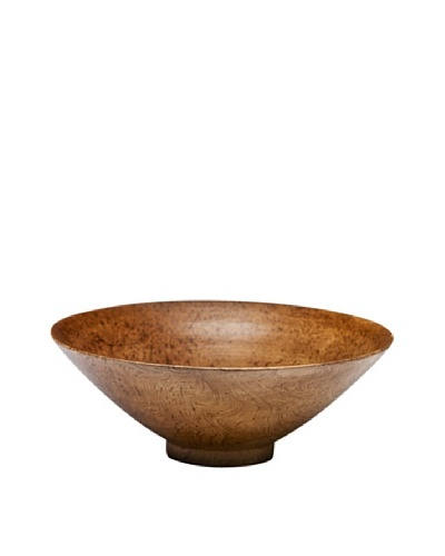 Dynasty Gallery Hand Carved Shuttle Bowl