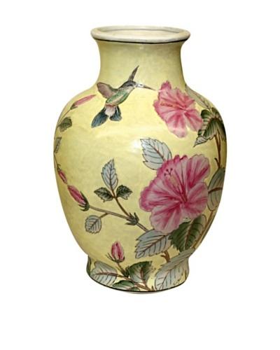 Dynasty Gallery Hummingbird Vase