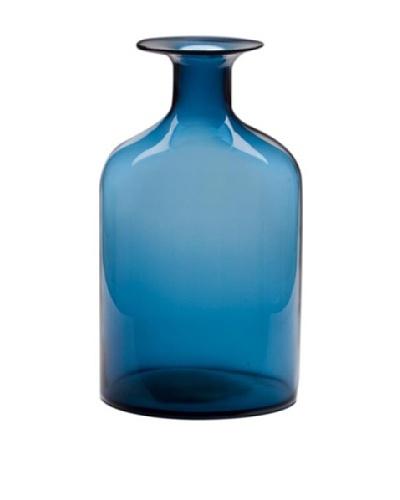 Dynasty Glass Steel Blue Collection - Vintage Jug - Steel Blue