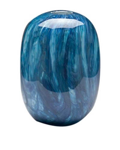 Dynasty Glass Oceana Collection - Beehive Vase - Oceana