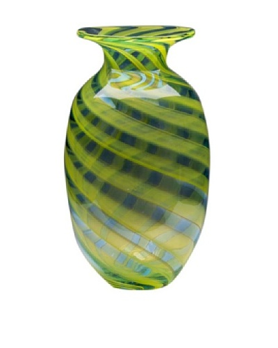 Dynasty Glass Firenze Collection - Vase - Marina Blue