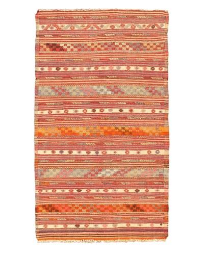"eCarpet Gallery Tula Kilim Rug, Cream/Light Khaki, 4' 11"" x 8' 6"""