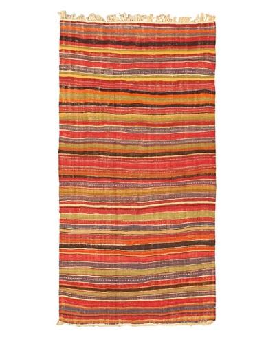 eCarpet Gallery Kashkoli Kilim, Light Brown/Red, 4' 7 x 9' 2