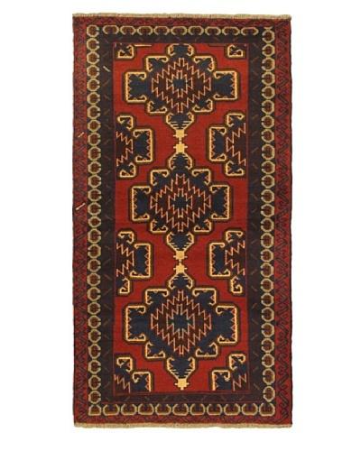 "ecarpetgallery Kazak Rug, Red, 3' 6"" x 6' 6"""