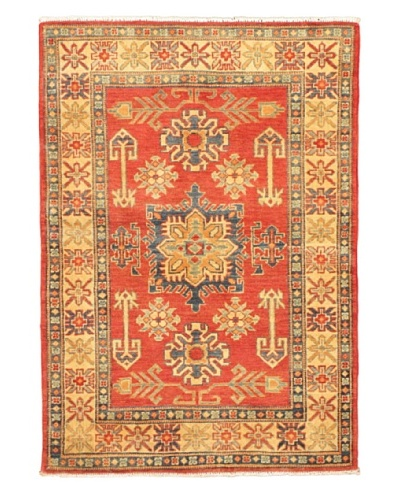 eCarpet Gallery Finest Gazni Rug, Cream/Dark Copper, 3' 5 x 4' 1