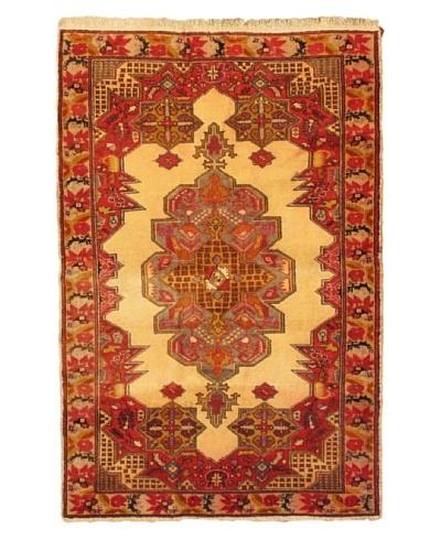 eCarpet Gallery Anadol Rug, Cream/Red, 5' 2 x 7' 6