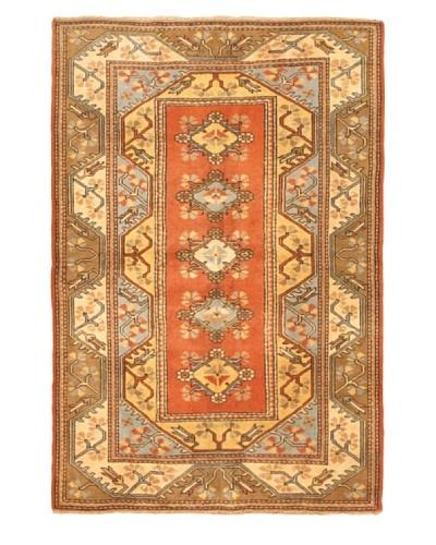 eCarpet Gallery Royal Ushak Rug, Copper/Cream, 5' 6 x 7' 1