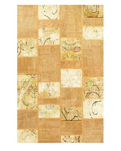 eCarpet Gallery Yama Patchwork Rug, Beige/Cream, 5' 4 x 8' 11