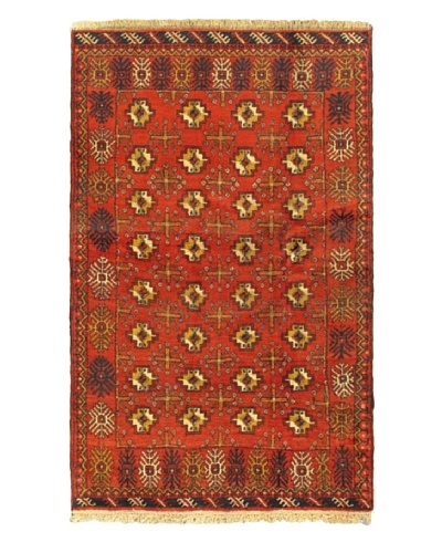 ecarpetgallery Royal Baluch Rug, Red, 3' 7 x 5' 9