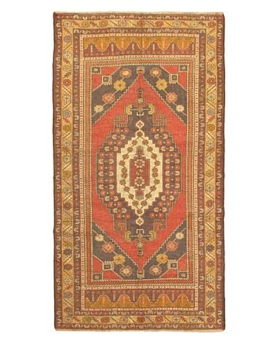 eCarpet Gallery Anadol Rug, Dark Copper/Light Khaki, 4' 11 x 9' 2
