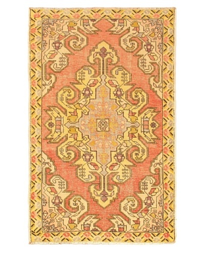 eCarpet Gallery Anadol Rug, Copper/Light Gold, 4' 5 x 7' 3