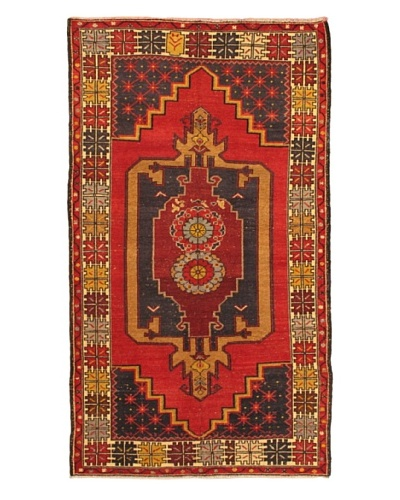 eCarpet Gallery Anadol Rug, Cream/Red, 4' 5 x 8' 1