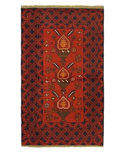 ecarpetgallery Bahor Rug, Red, 3' 9 x 6' 4