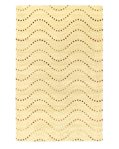 Ecarpetgallery Rugs Bijou Abstract Rug, Light Yellow, 5' x 8'
