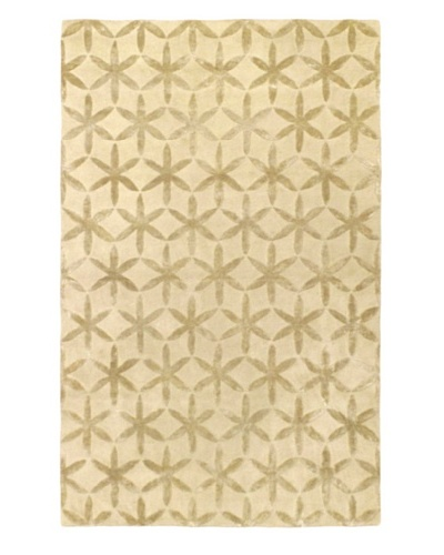 Ecarpetgallery Rugs Burst Abstract Rug, Cream, 5' x 8'