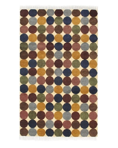 Ecarpetgallery Rugs Aurora Abstract Rug, Cream, 5' x 8'