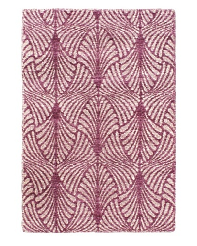 Ecarpetgallery Rugs Javier Abstract Rug, Cream Purple, 3' 11 x 5' 11