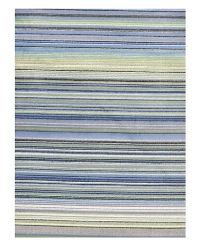 "Ecarpetgallery Rugs Chroma Missonia Blue Abstract Rug, Light Blue, 5' 5"" x 7' 9"""