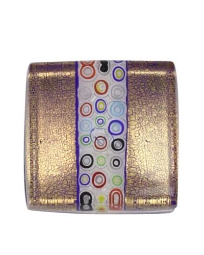 Eccolo Millefiori Bar Paperweight [Gold/Multi]