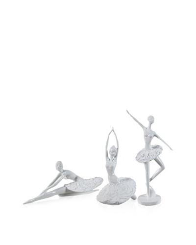 Set Of 3 Ballet Figurines