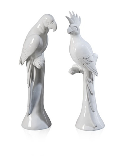 Set Of 2 Parrot Decor
