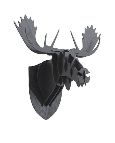Eco Décor Laser-Cut Animal Trophy Reindeer Head, Black