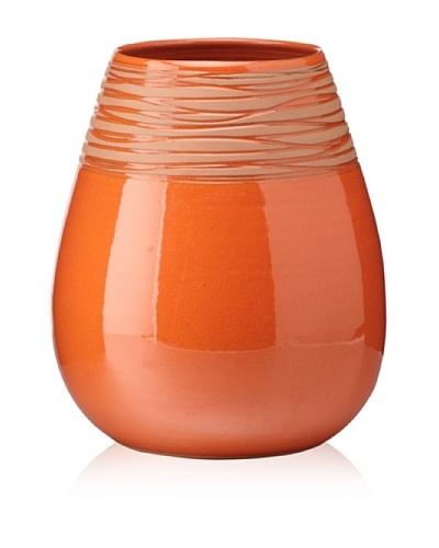 Ecorce d'Orange Hand-Made Ceramic Vase