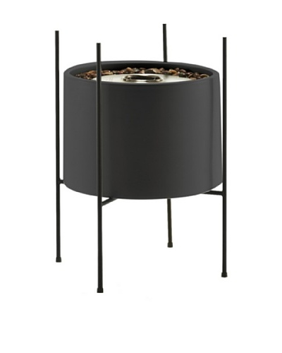 EcoSmart Cylinder Vessel in Stand, GraphiteAs You See