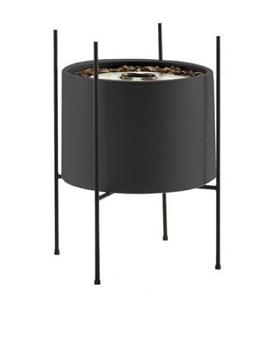 EcoSmart Cylinder Vessel in Stand, Graphite