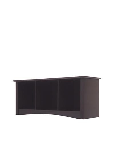Elegant Home Fashions Stanton Storage Bench, Dark Espresso
