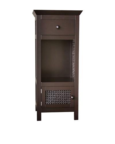 Elegant Home Fashions Savannah Floor Cabinet, Espresso