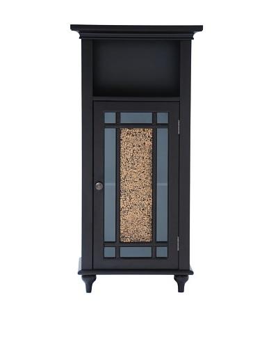 Elegant Home Fashions Windsor Floor Cabinet, Dark Espresso
