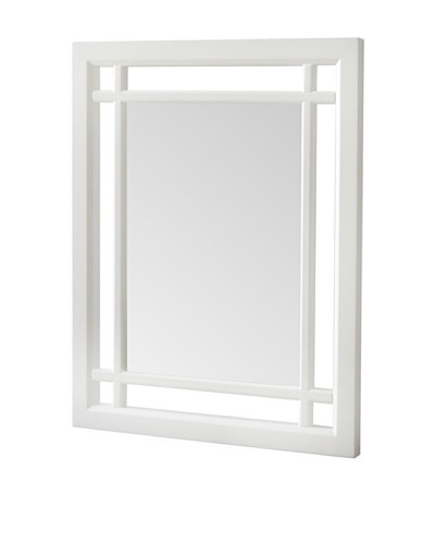 Elegant Home Fashions Neal Mirror, White