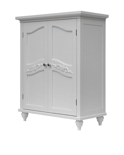 Elegant Home Fashions Versailles Double Door Floor Cabinet