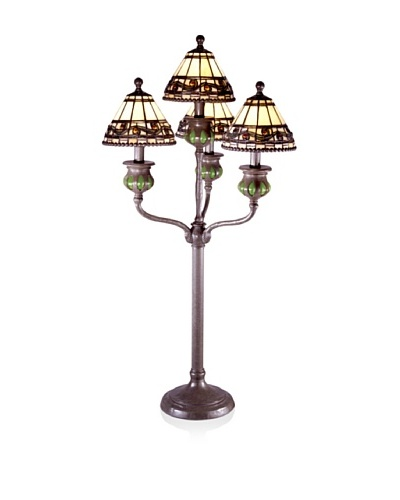 Dale Tiffany 4 Light Buffet Lamp