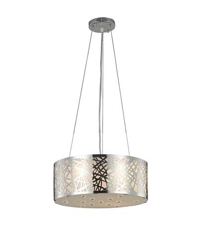 Elegant Lighting Prism 4-Light Pendant [Chrome]