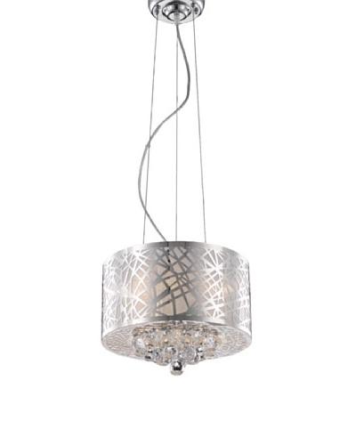 Elegant Lighting Prism 3-Light Pendant [Chrome]