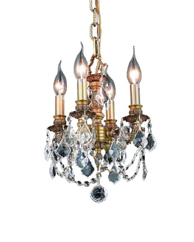 Elegant Lighting Lillie 4-Light Pendant [French Gold]