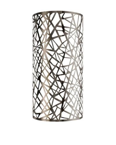 Elegant Lighting Prism Wall Sconce, Chrome