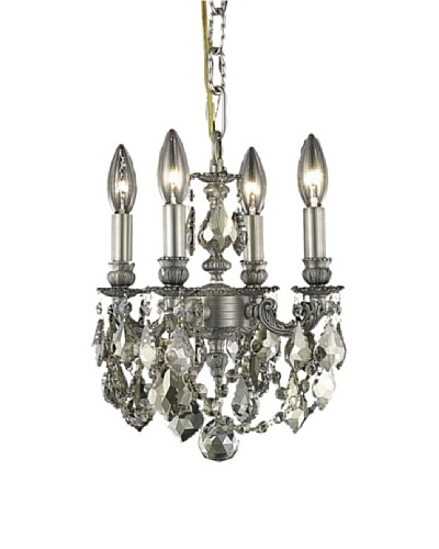Elegant Lighting Lillie 4-Light Pendant [Pewter]