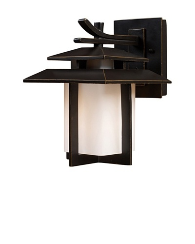 Elk 42170/1 Kanso 1-Light Outdoor Sconce 8-Inch Width by 11-Inch Height In Hazelnut BronzeAs You See