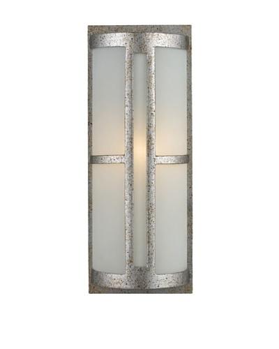 Elk 42095/1 Trevot 1-Light Outdoor Wall Mount In Sunset Silver
